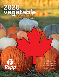 Rupp Seeds 2020 Canada Vegetable Catalog