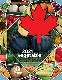 Rupp Seeds 2021 Canada Vegetable Catalog