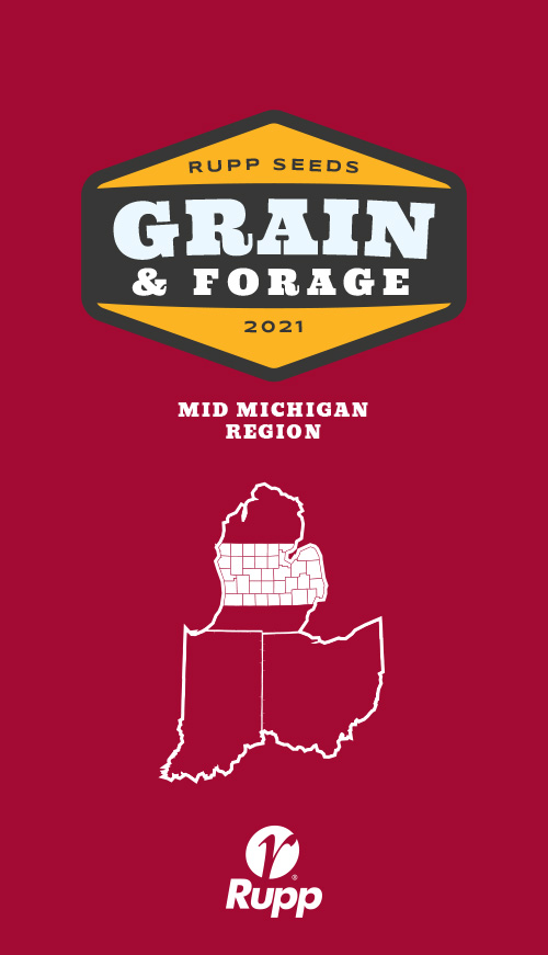 2021 Mid Michigan Corn, Soybeans, Wheat, Alfalfa ,Forages Catalog
